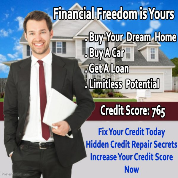 Fix Your Credit, Hidden Credit Repair Secrets, Increase Credit Score
