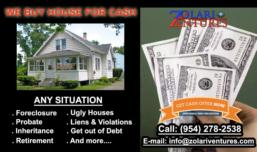 We Buy House Cash, Get Cash For Your House