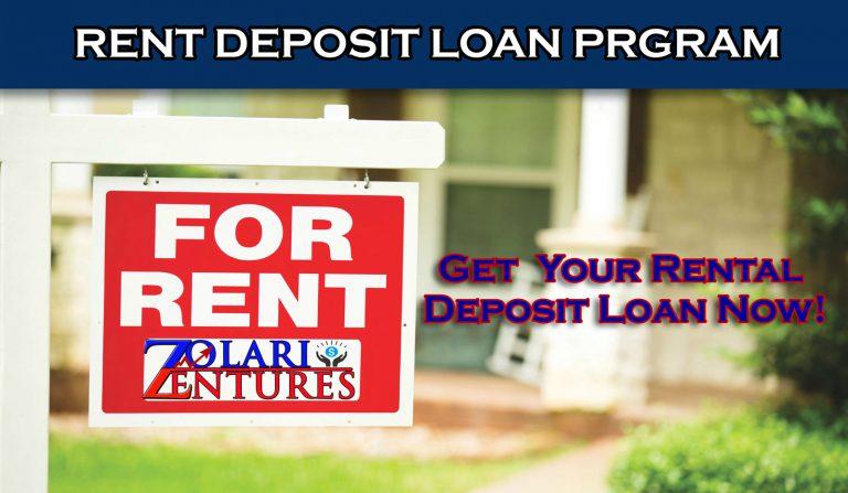 Get Your Rent Deposit Assistand Loan