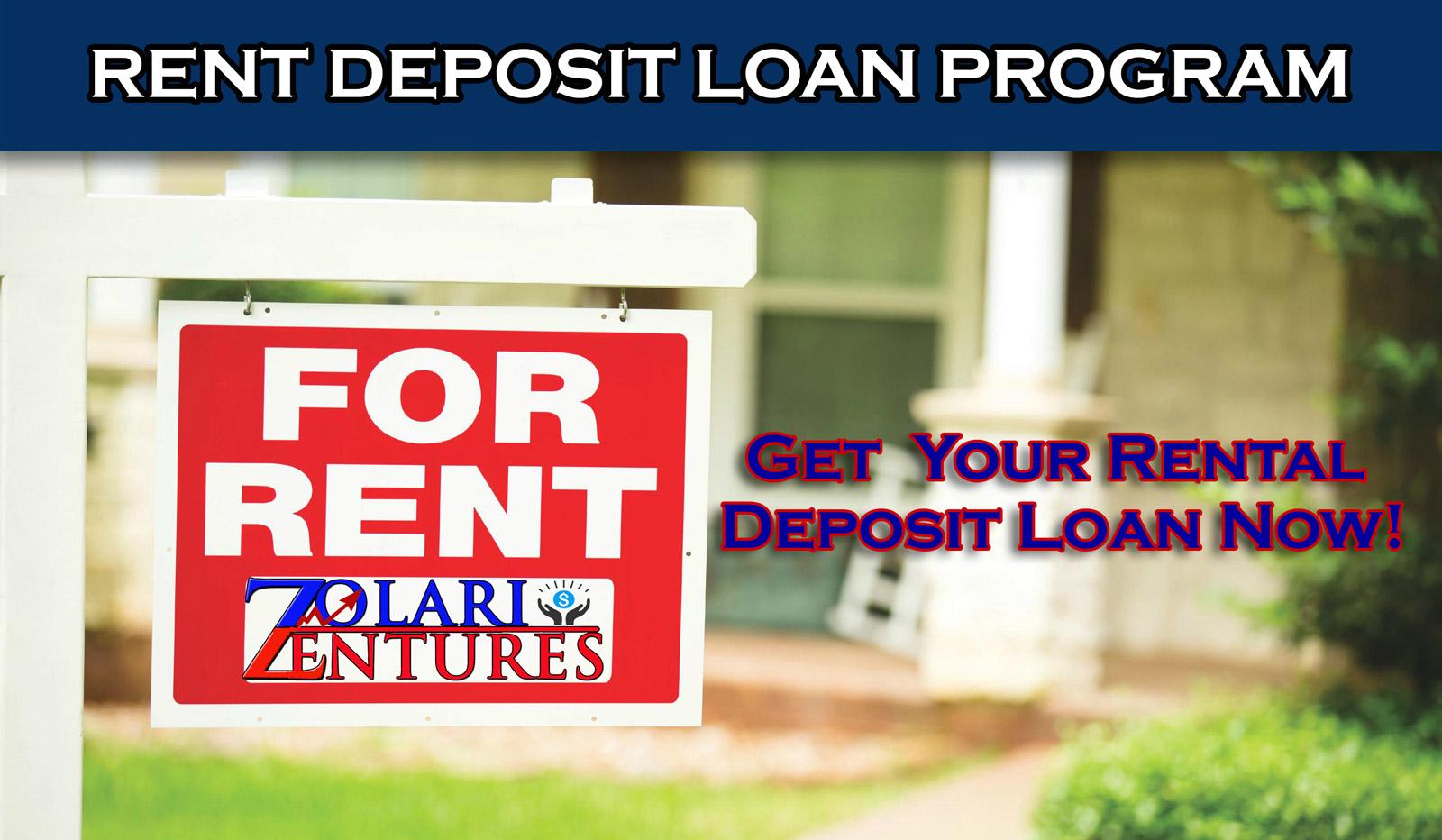 Get Your Rent Deposit Loan Now!!