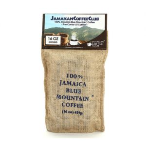 JAMAICA BLUE MOUNTAIN COFFEE 16-OZ Roasted and Ground
