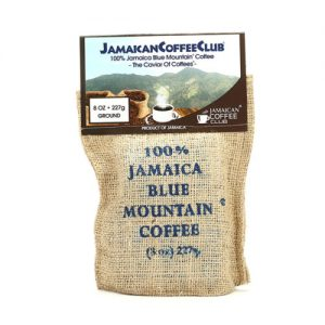 JAMAICA BLUE MOUNTAIN COFFEE 8-OZ Roasted and Ground