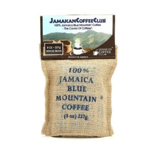 JAMAICA BLUE MOUNTAIN COFFEE 8-OZ Whole Bean