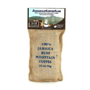 JAMAICA BLUE MOUNTAIN COFFEE 16-OZ Whole Bean